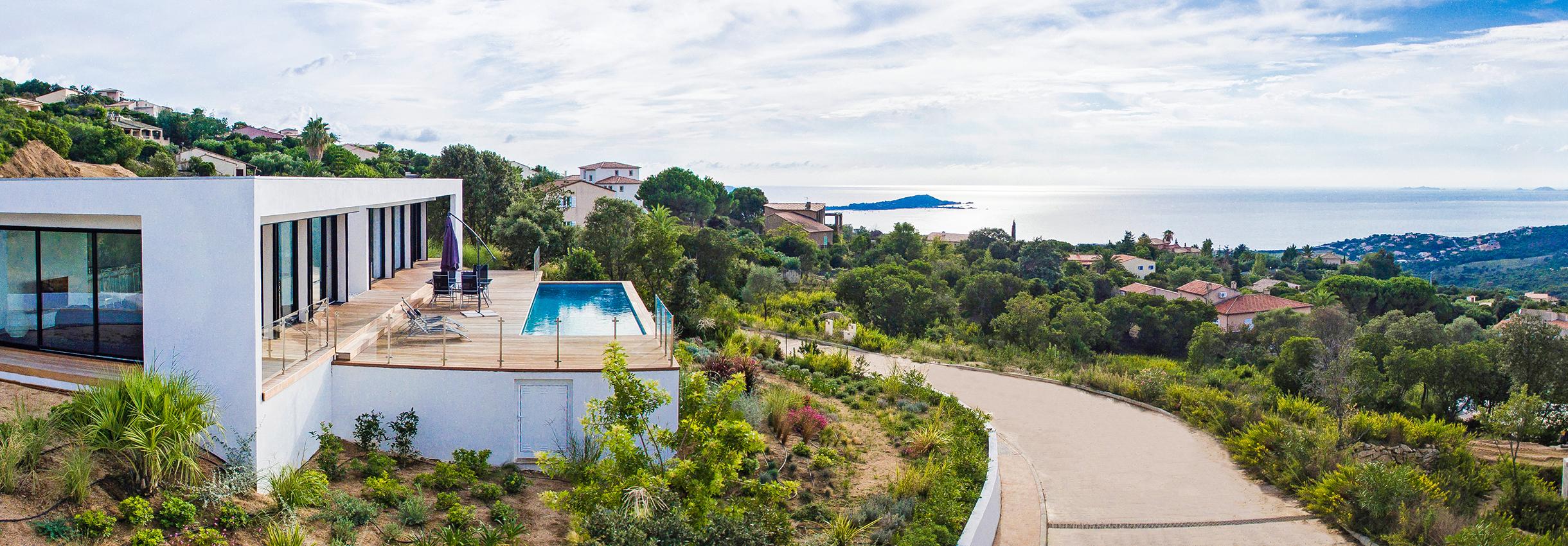 Maison prestige corse location vacances maison bonifacio - Location villa avec piscine corse ...